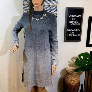 Grey Ombre Style & Co Sweater Dress